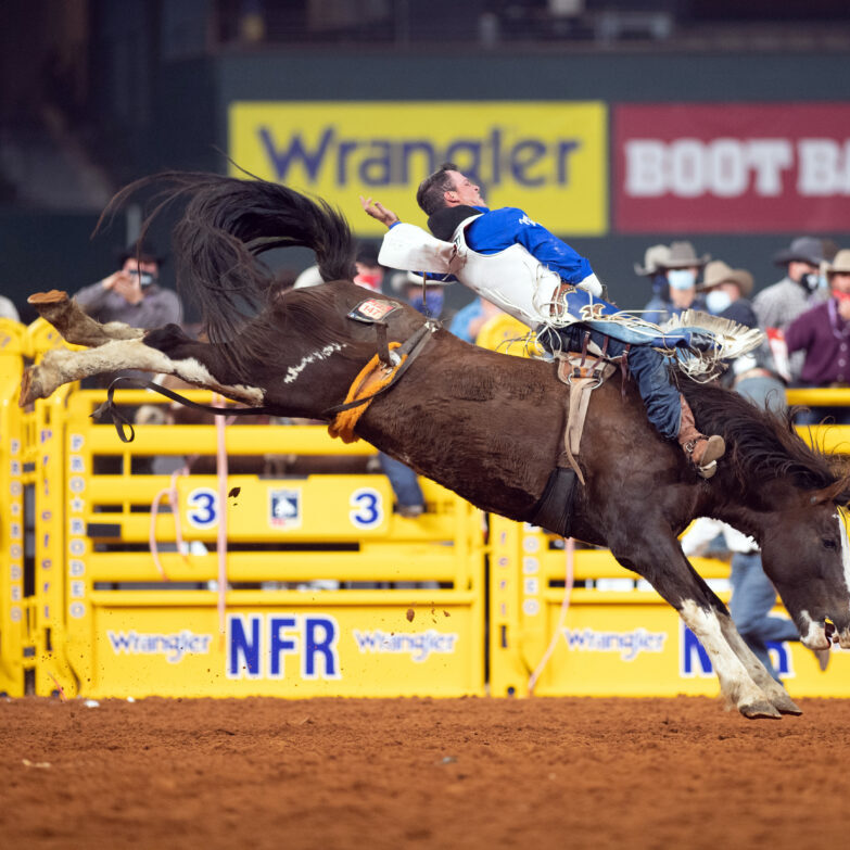Richmond Champion wins  Round 1 of the WNFR in Globe Life Field